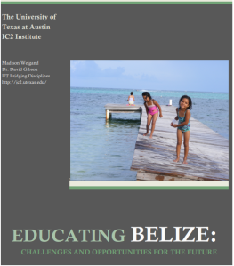 Educating Belize Report - Cover